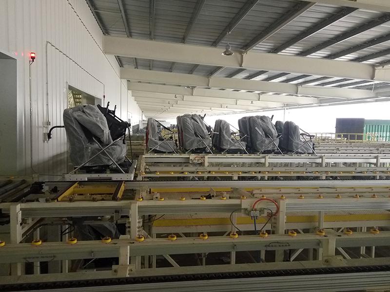Seat production line