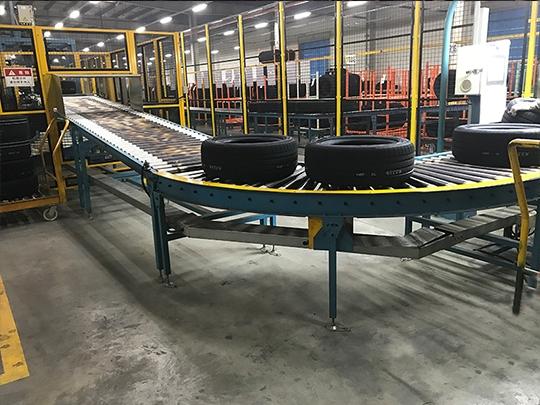 Tire production line