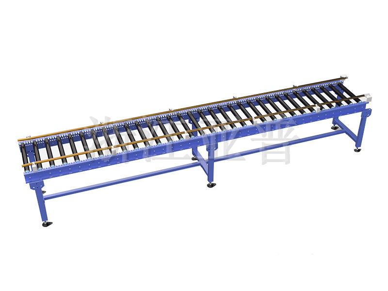 Roller table machine